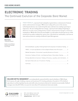 Fixed Income 2017-Electronic Trading